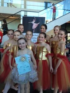 Ballett Proben 10-13 Jahre