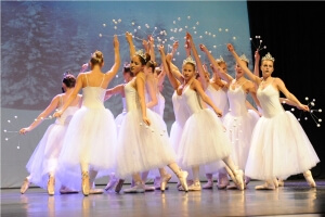 ballett schneeflocken nu+ƒknacker